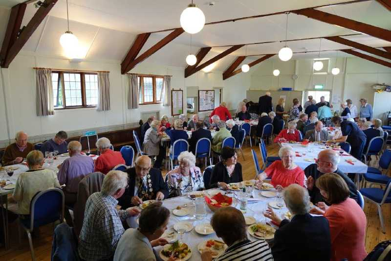Bring and share lunch in the church hall