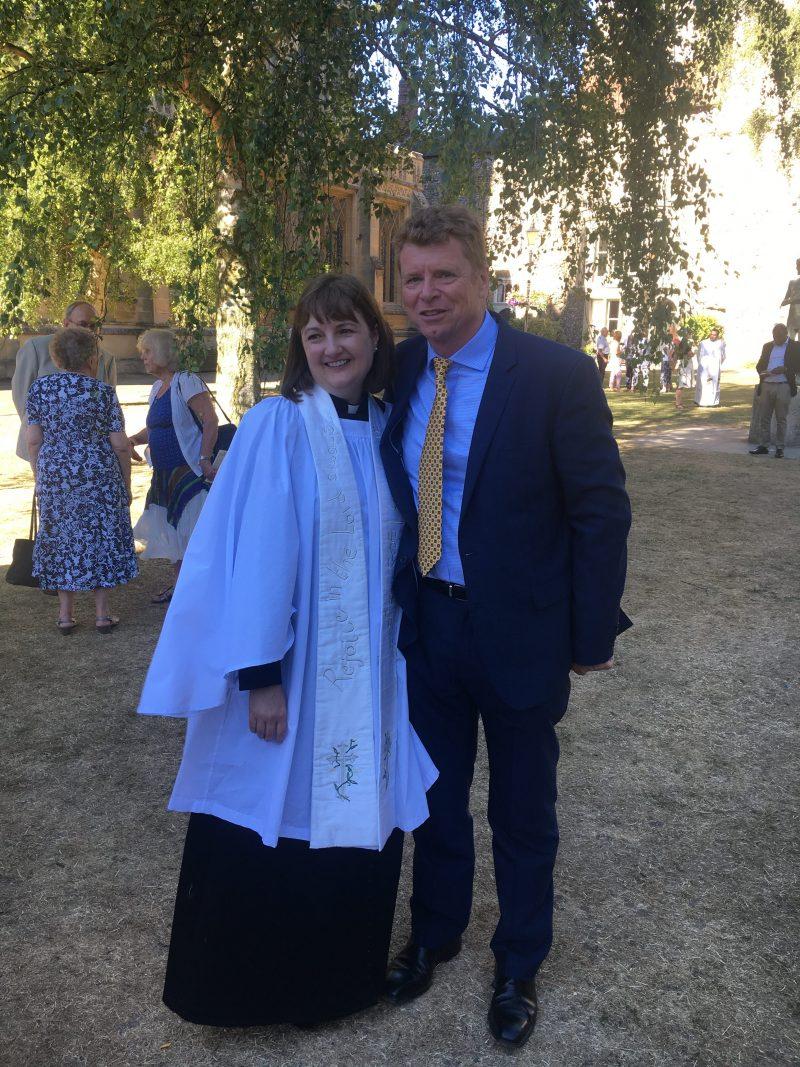 Jo with husband Rob