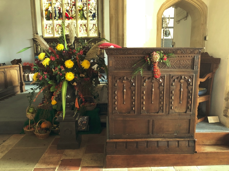Harvest Festival at Aldeburgh Parish Church