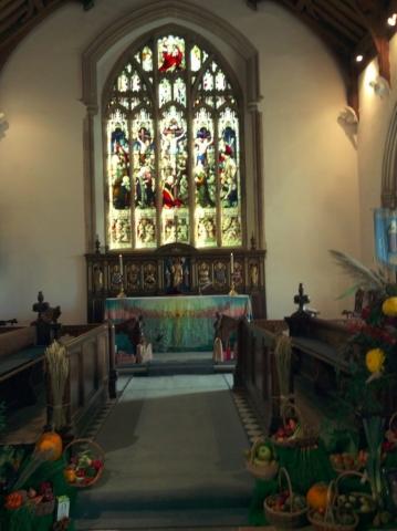 Harvest Festival at Aldeburgh Parish Church